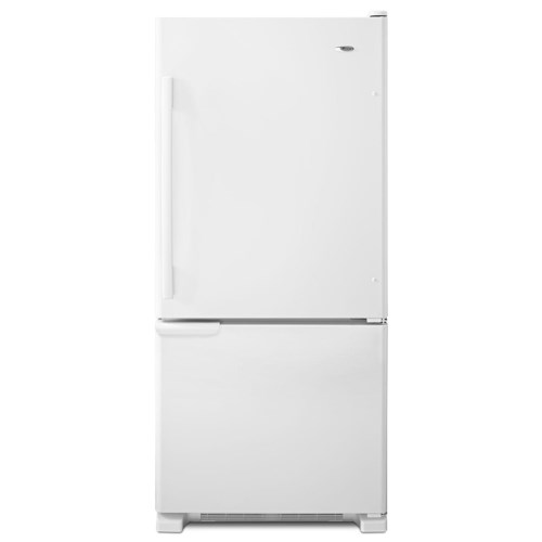Amana Bottom Mount Refrigerators ENERGY STAR® 18.5 Cu. Ft. Bottom-Freezer Refrigerator with Temp-Assure Freshness Controls