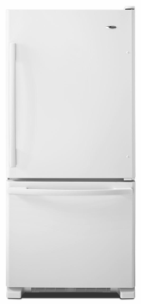 amana abb1924brwenergy star 18 5 cu ft top freezer refrigerator rh furnitureappliancemart com Amana Refrigerator Bottom Freezer Old Amana Refrigerator Model Numbers
