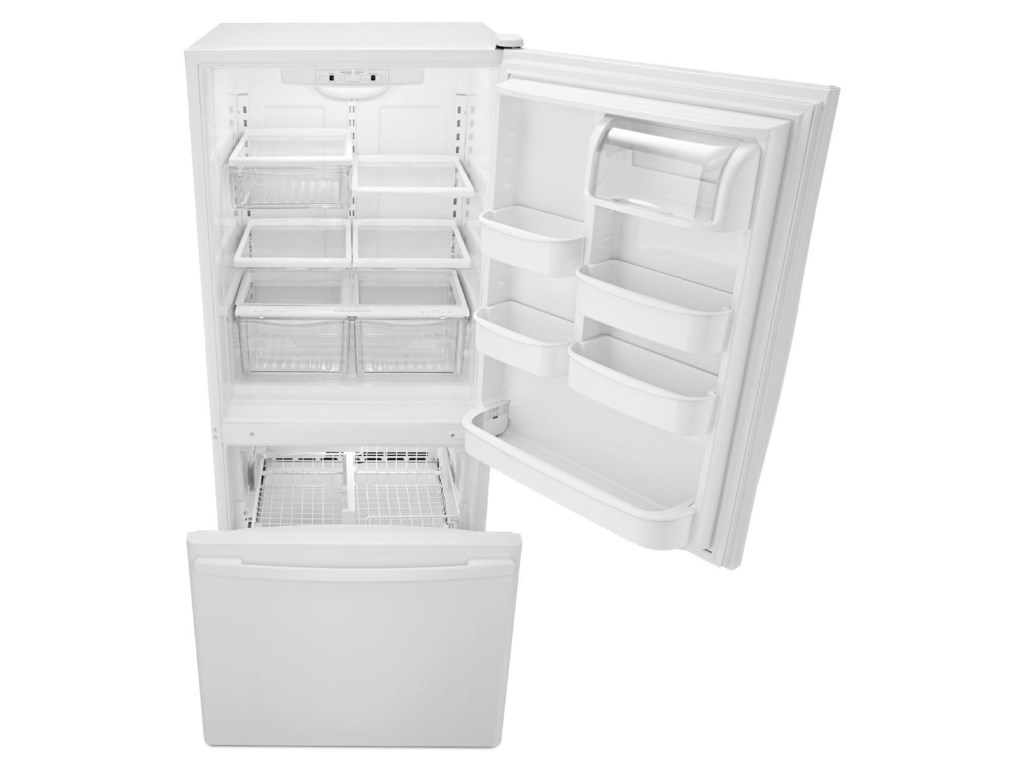 Amana Bottom Mount Refrigerators18.5 Cu. Ft. Bottom-Freezer Refrigerator