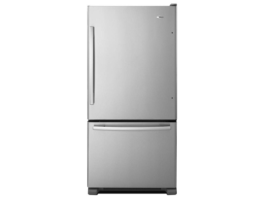 Amana Bottom Mount Refrigerators22 Cu. Ft. Bottom-Freezer Refrigerator