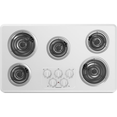36-inch Amana® Electric Cooktop