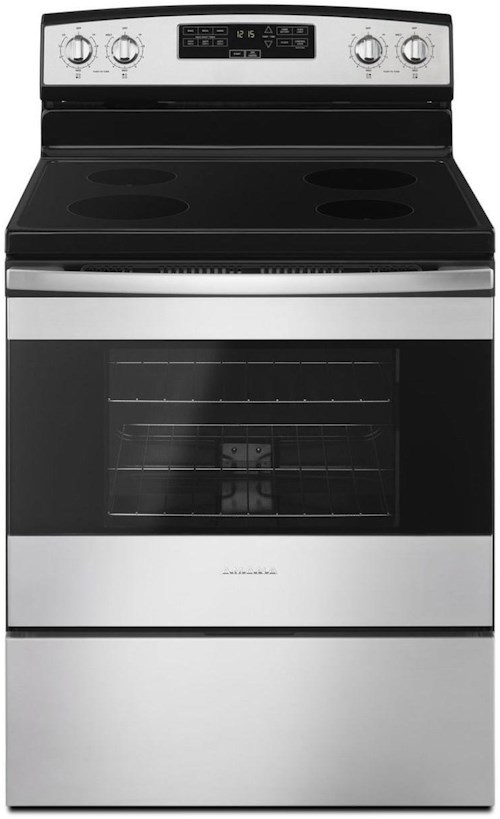 Amana Draft Down Cooktops ~ Amana inch electric range with extra large oven