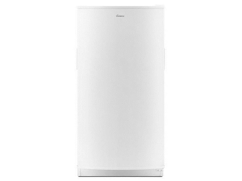 Upright Freezers 16 cu  ft  Upright Freezer with Free-O-Frost™ System by  Amana at Furniture and ApplianceMart