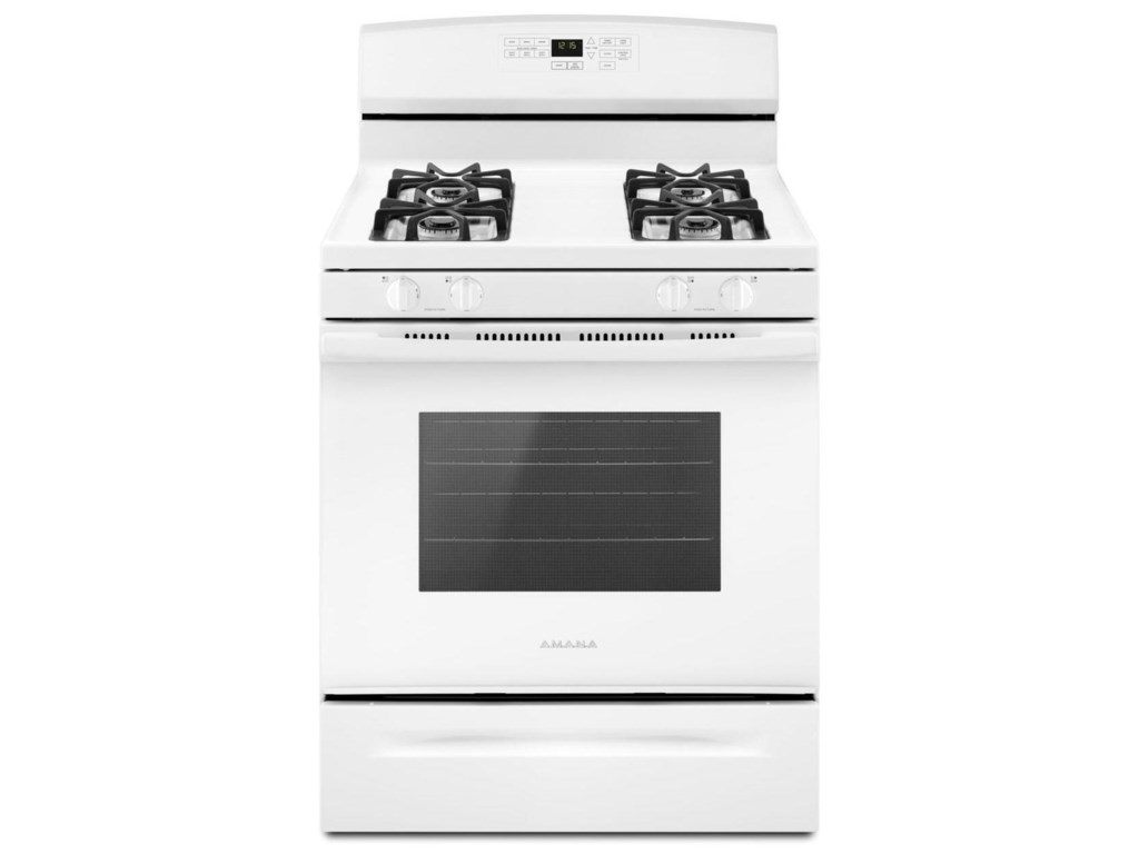 Amana Gas Ranges - Amana30-inch Gas Range with Self-Clean Option