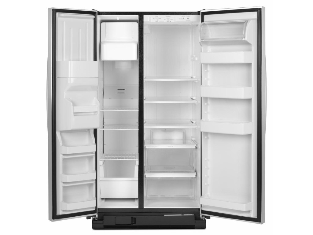 Amana Side-By-Side Refrigerators25.5 Cu. Ft. Side-by-Side Refrigerator