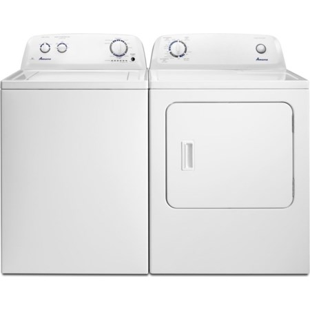 3.5 Cu. Ft. Washer and 6.5 Cu. Ft. Dryer