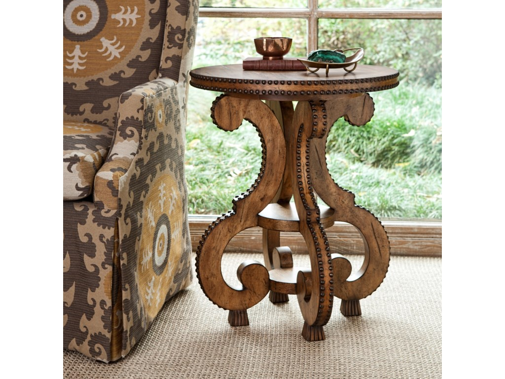 Ambella Home Collection Accent TablesStudded Accent Table
