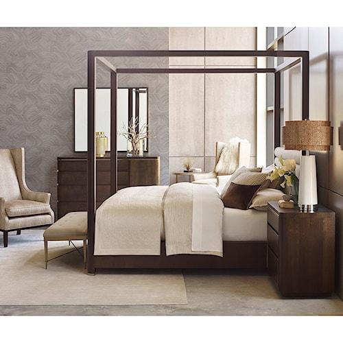 American Drew Ad Modern Organics King Bedroom Group