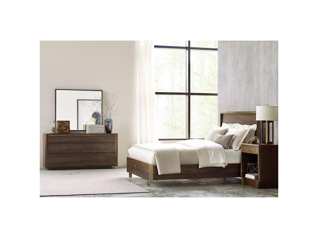 American Drew Ad Modern OrganicsQueen Bedroom Group