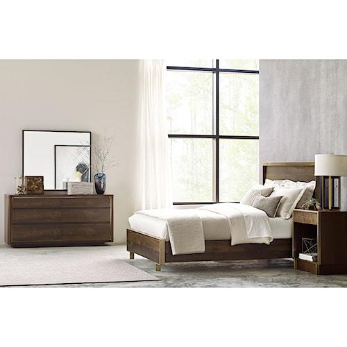 American Drew Ad Modern Organics Queen Bedroom Group