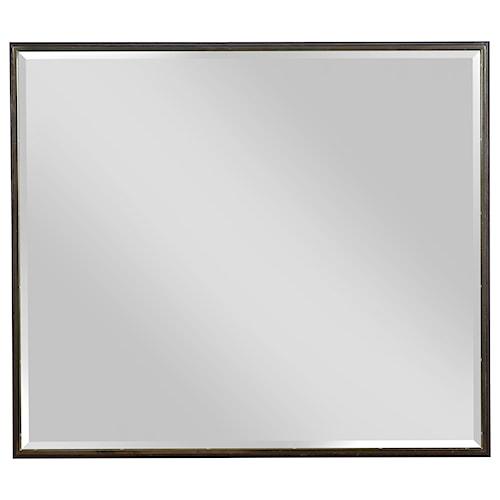 American Drew Ad Modern Organics Holt Landscape Mirror with Frame ...