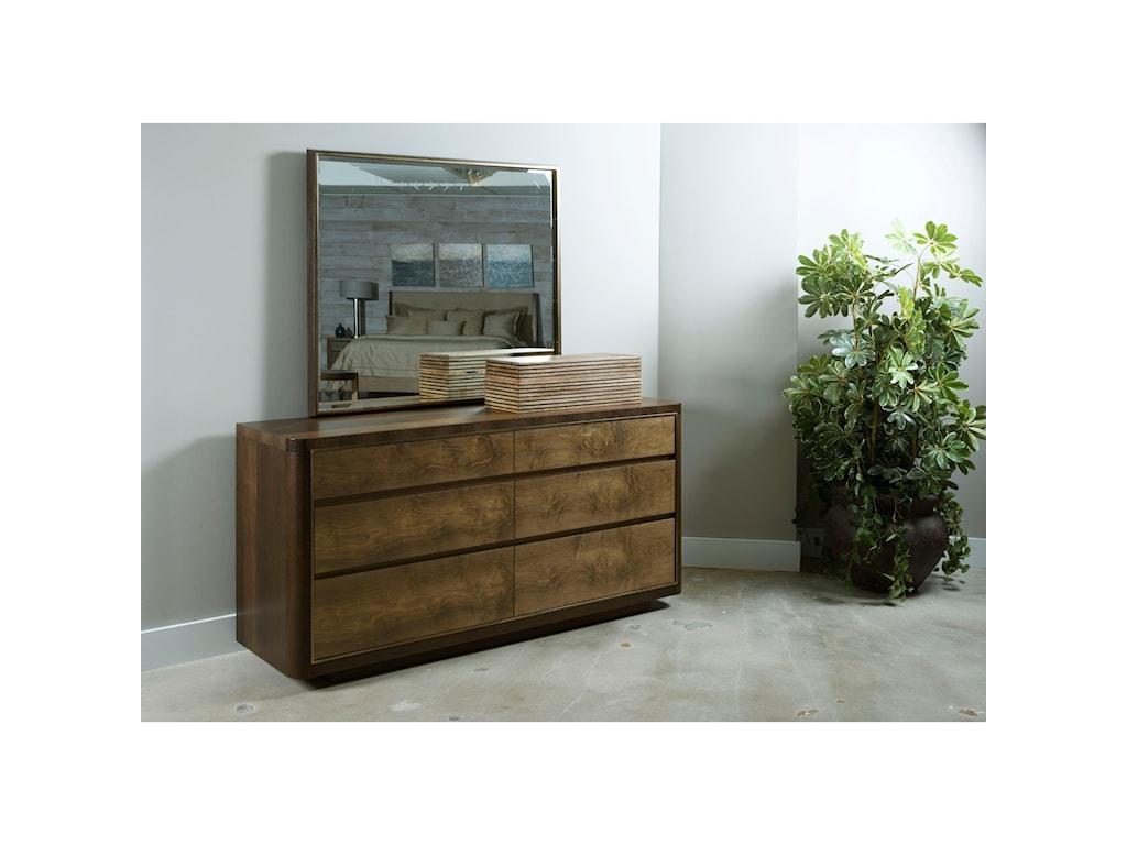 American Drew Ad Modern OrganicsHoward Six Drawer Dresser