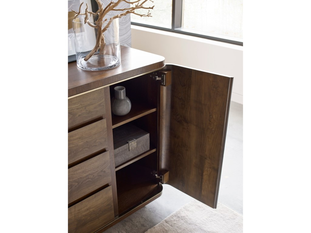 American Drew Ad Modern OrganicsSpencer Drawer Door Dresser