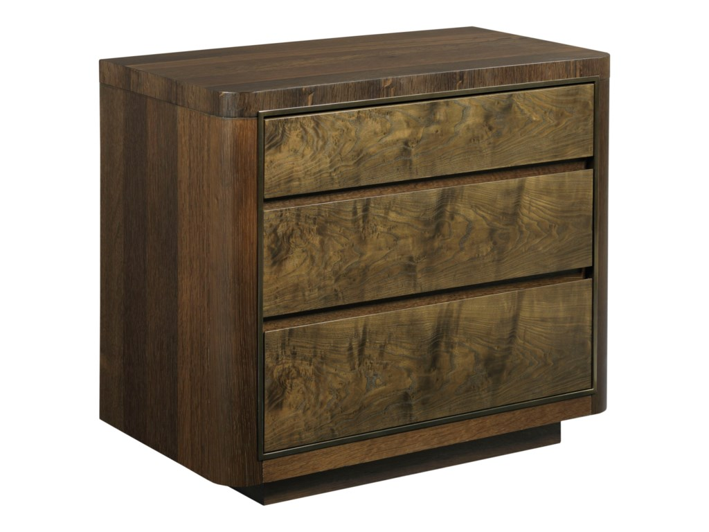 American Drew Ad Modern OrganicsHays Three Drawer Nightstand