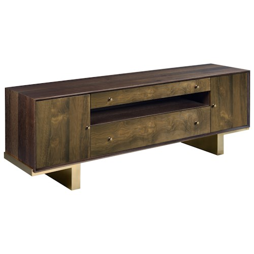 American Drew Ad Modern Organics Conrad Entertainment Console with Outlet