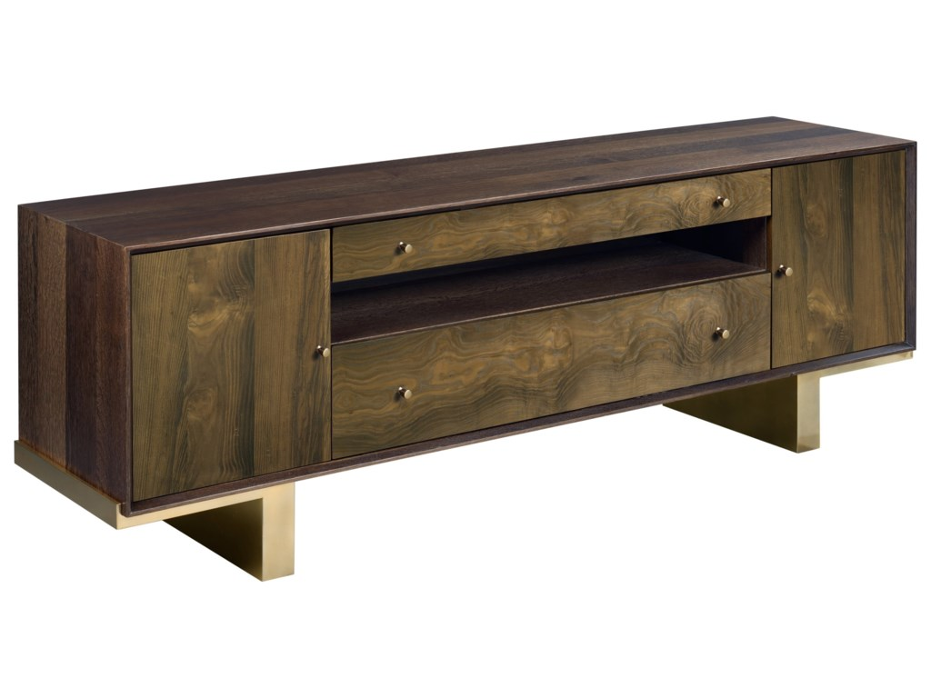 Living Trends Ad Modern OrganicsConrad Entertainment Console