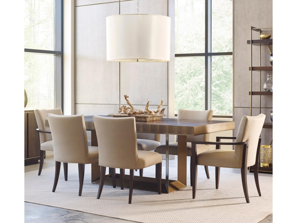 American Drew Ad Modern Organics7 Piece Table & Chair Set