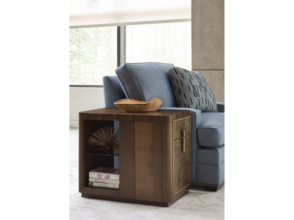 American Drew Ad Modern OrganicsKern Drawer End Table
