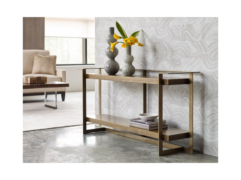 American Drew Ad Modern OrganicsTimothy Console Table