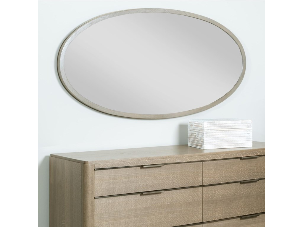 American Drew Ad Modern ClassicsRamsey Oval Mirror