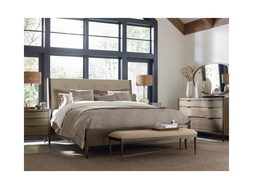 American Drew Ad Modern ClassicsSamuel California King Platform Bed