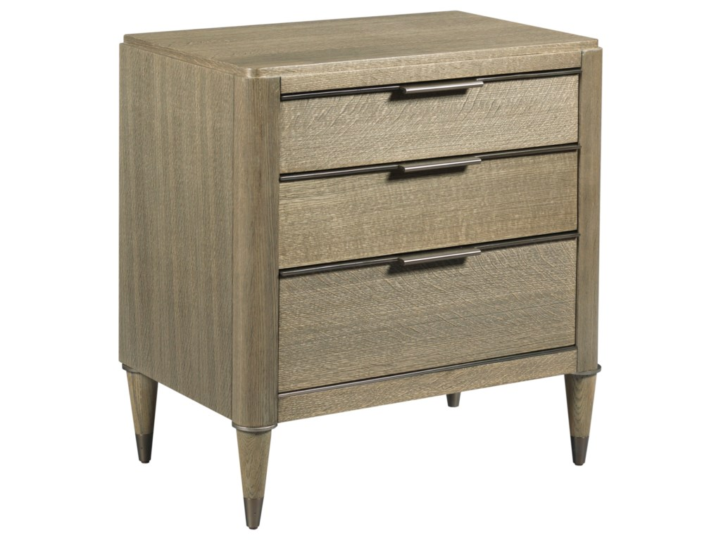 American Drew Ad Modern ClassicsAiken Three Drawer Night Stand