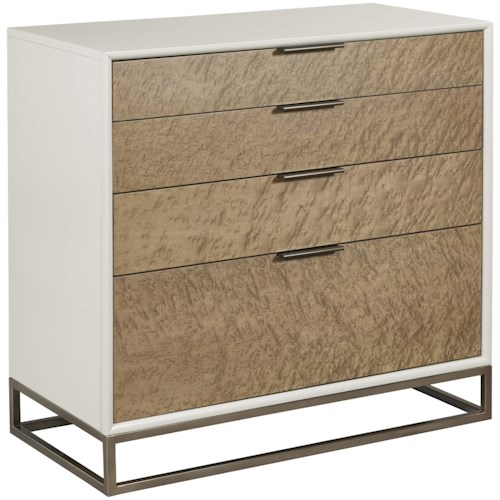 American Drew Ad Modern Classics Contemporary Edwards Drawer Bunching Chest