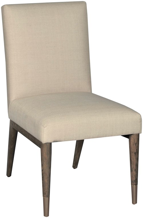 American Drew Ad Modern Classics Upholstered Shelby Dining Side Chair