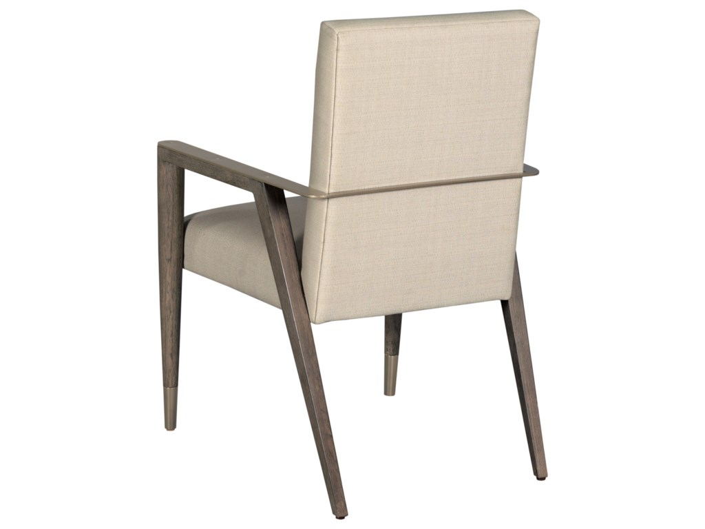 American Drew Ad Modern ClassicsUpholstered Shelby Dining Arm Chair