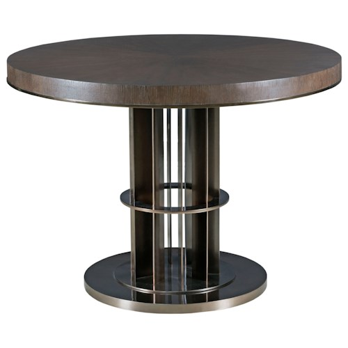 American Drew Ad Modern Classics Lindsey Adjustable Height Table with Round Top