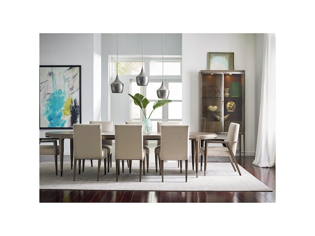American Drew Ad Modern ClassicsOval Lloyd Dining Table