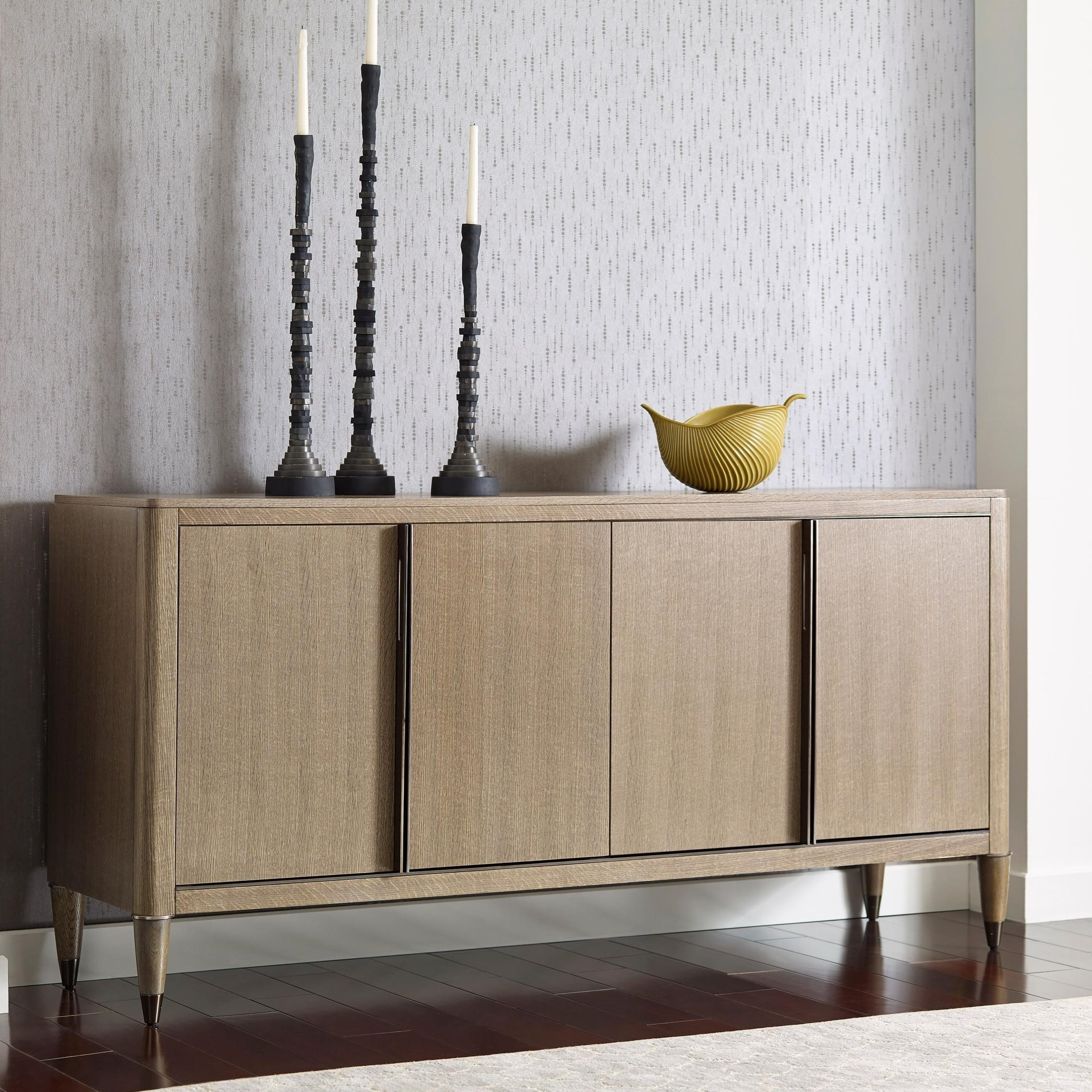 La Credenza On The Road : American drew ad modern classics darby credenza with usb charger