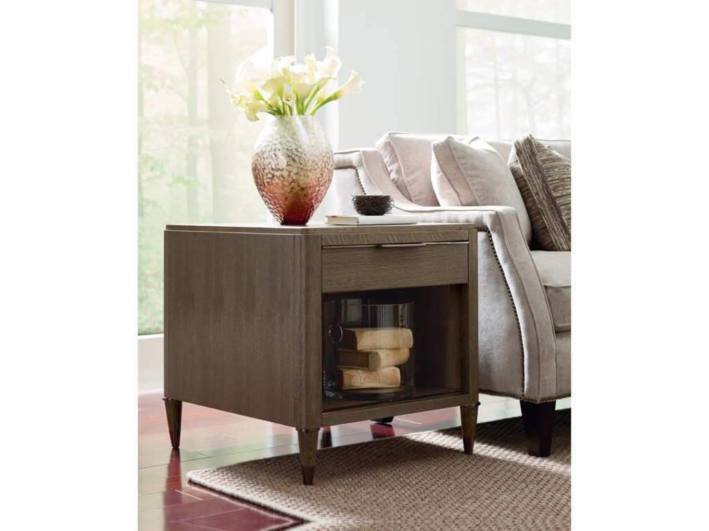 American Drew Ad Modern ClassicsDixon Drawer End Table