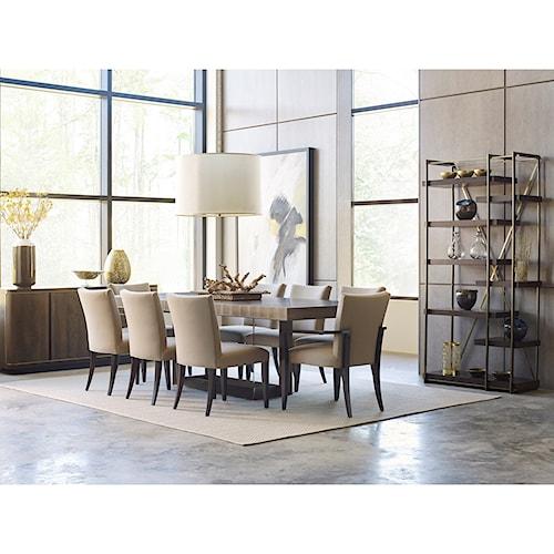 American Drew Ad Modern Organics Formal Dining Room Group