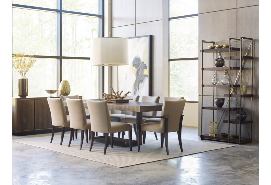 Living Trends Ad Modern Organics Formal Dining Room Group ...