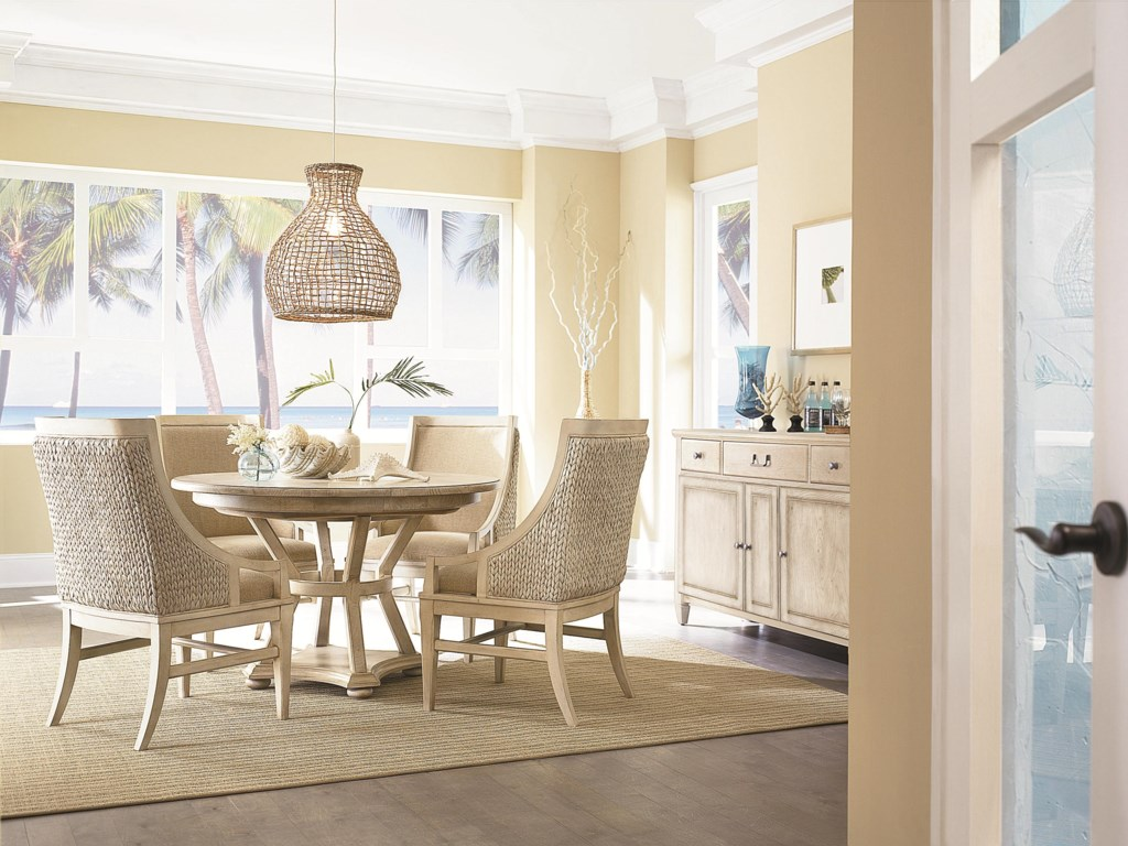 Shown with Freeport Accent Chair and Buffet
