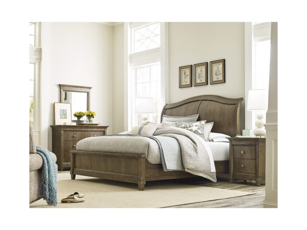 American Drew AnsonKing Bedroom Group