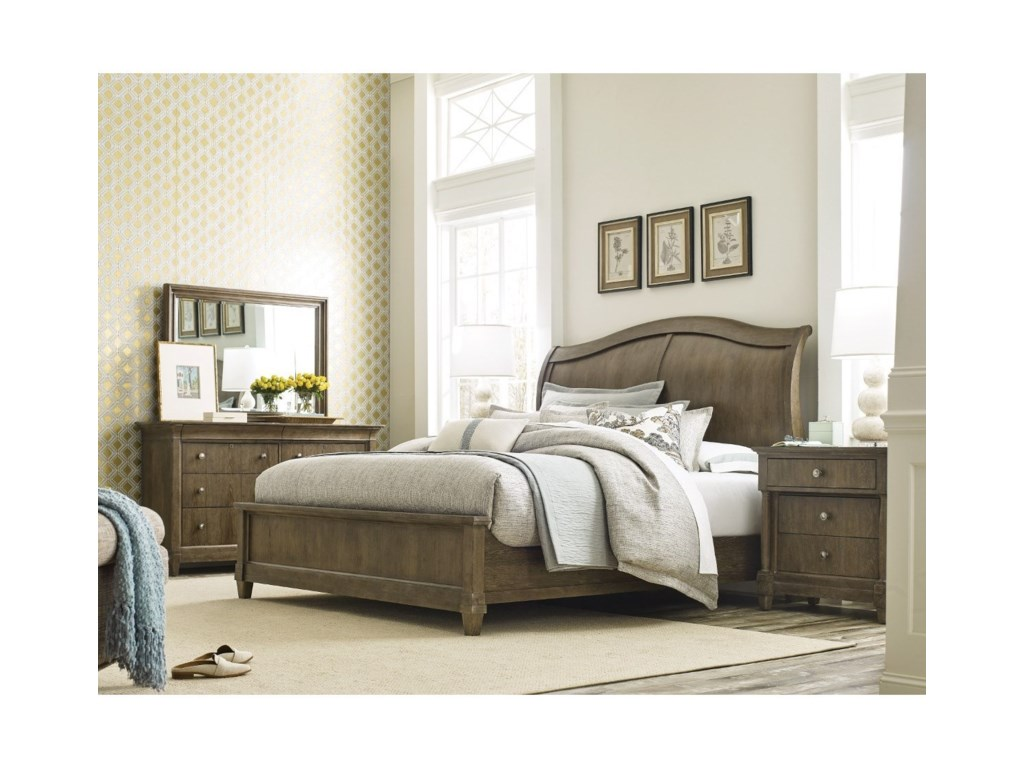 American Drew AnsonQueen Bedroom Group