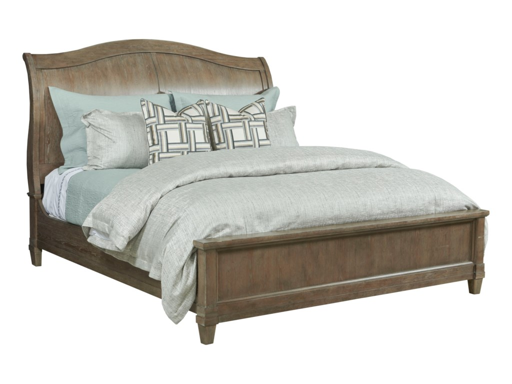 American Drew AnsonKing Sleigh Bed