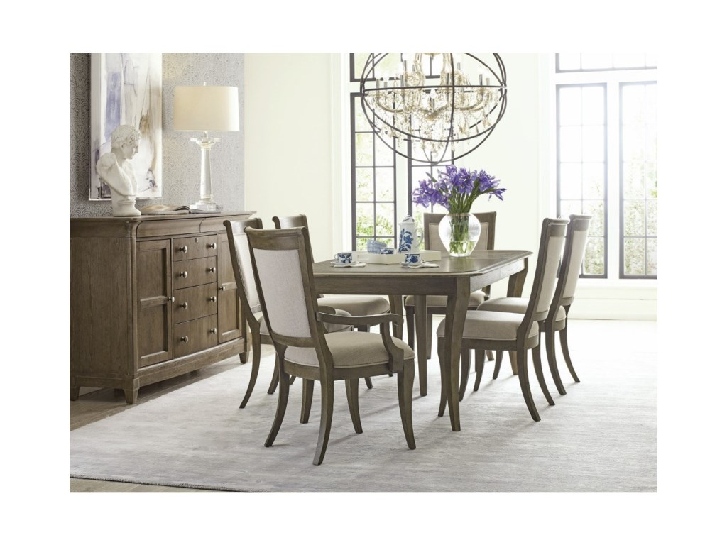 American Drew Anson7 Pc Dining Set
