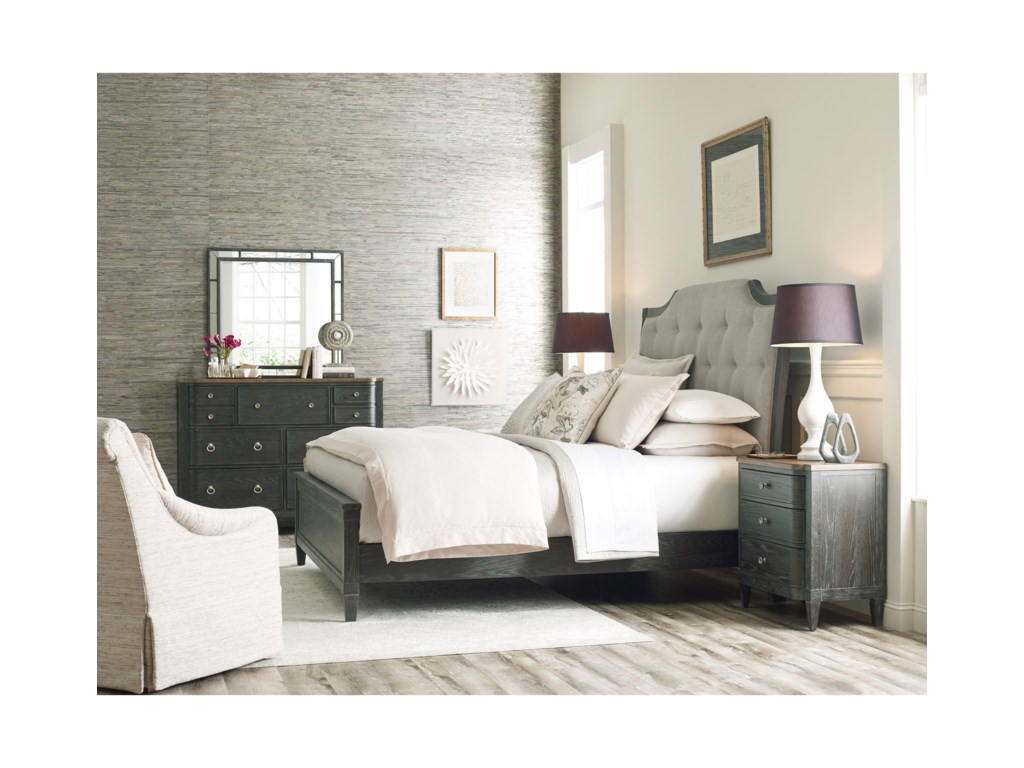 American Drew ArdennesQueen Bedroom Group