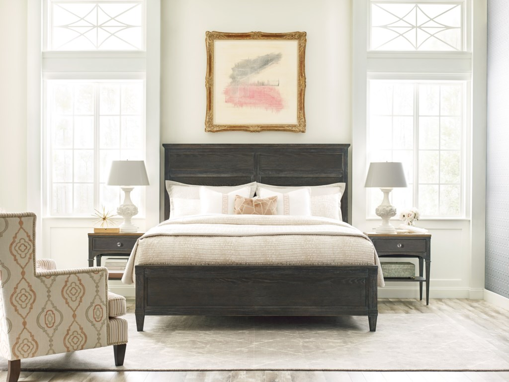American Drew ArdennesSambre Panel Queen Bed