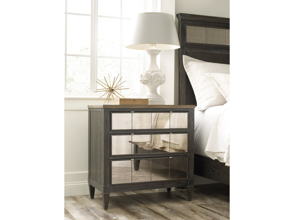 American Drew ArdennesSambre Panel King Bed