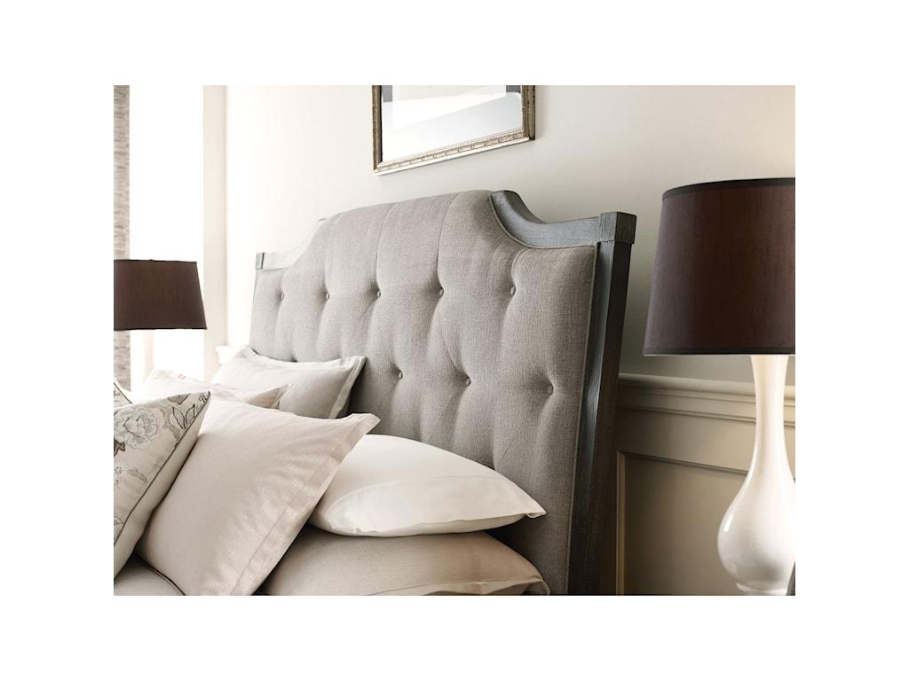 American Drew ArdennesLorraine Upholstered Queen Bed