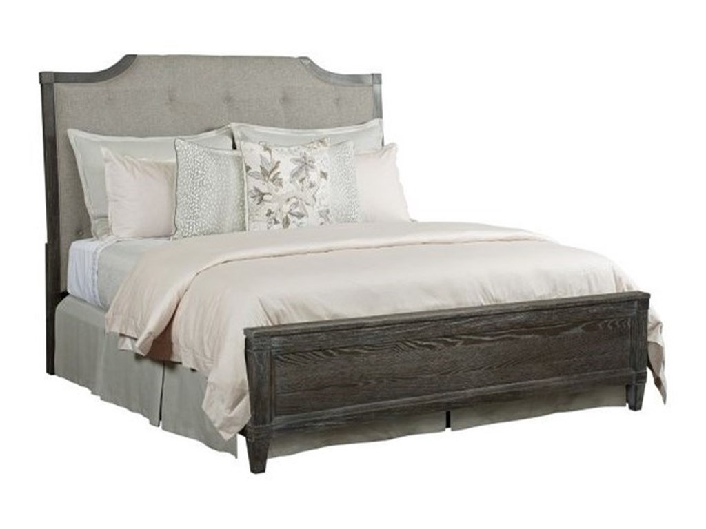 American Drew ArdennesLorraine Upholstered California King Bed