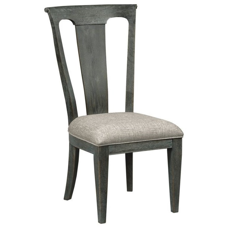 American Drew Ardennes Roland Side Chair With Upholstered Seat