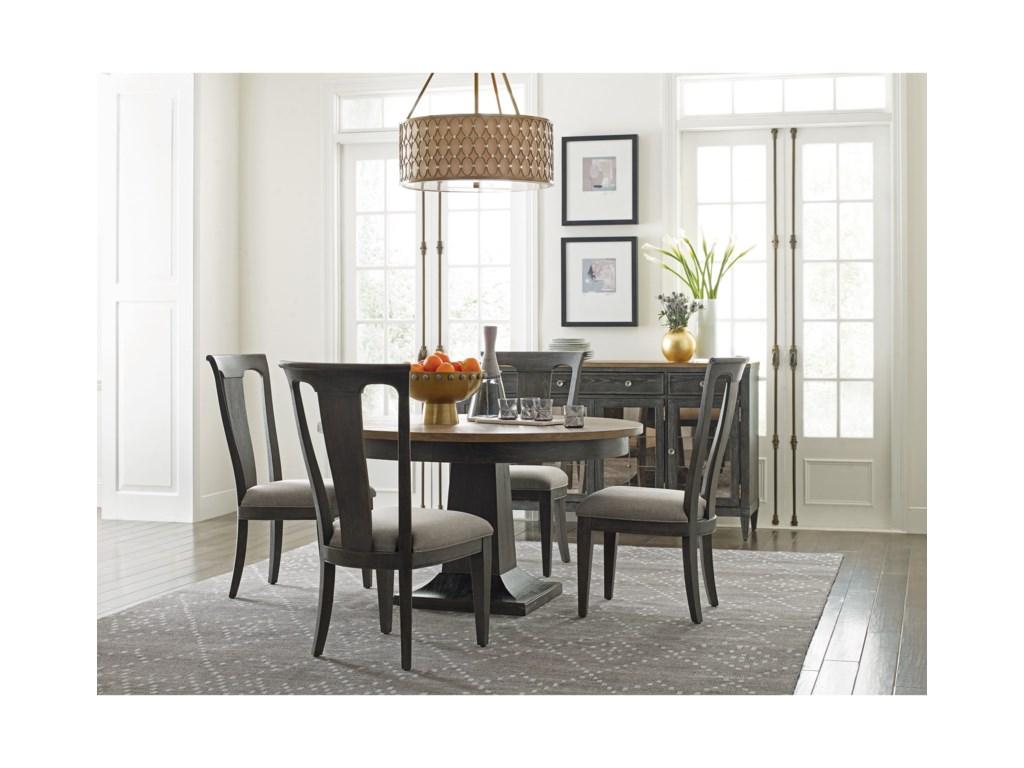 American Drew ArdennesDining Table and Chair Set