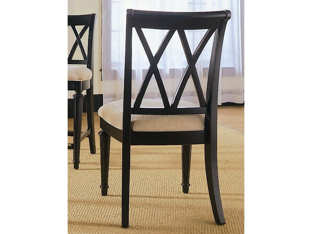 American Drew Camden - DarkSplat Back Side Chair