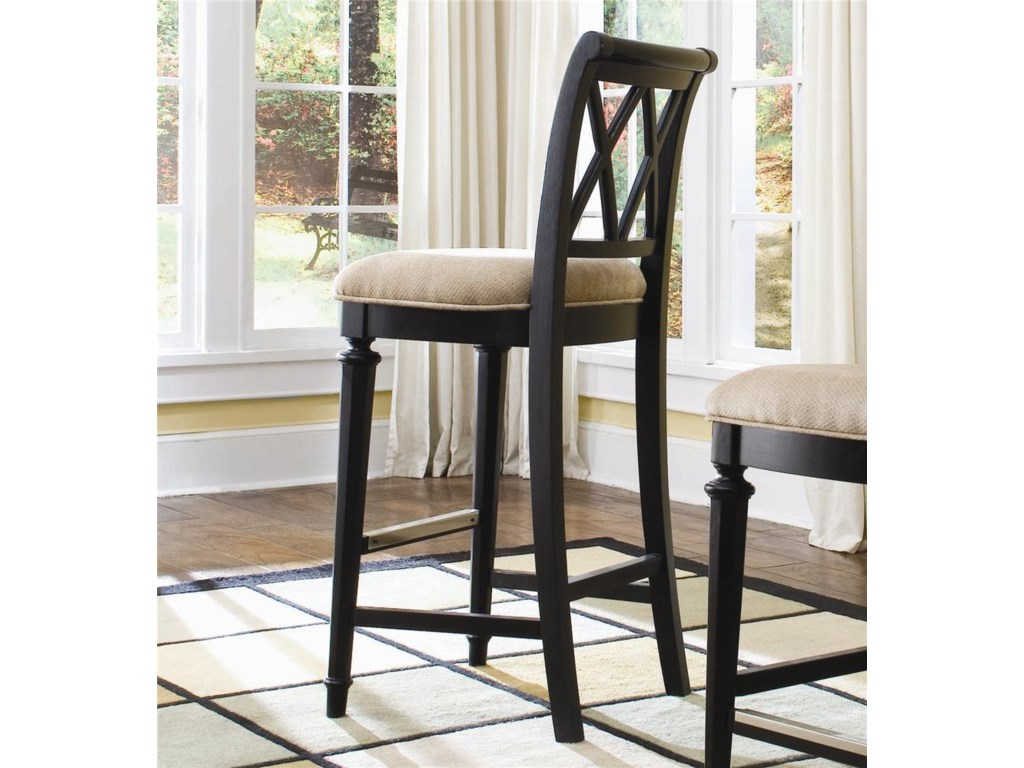 American Drew Camden - DarkBar Stool Bar Height