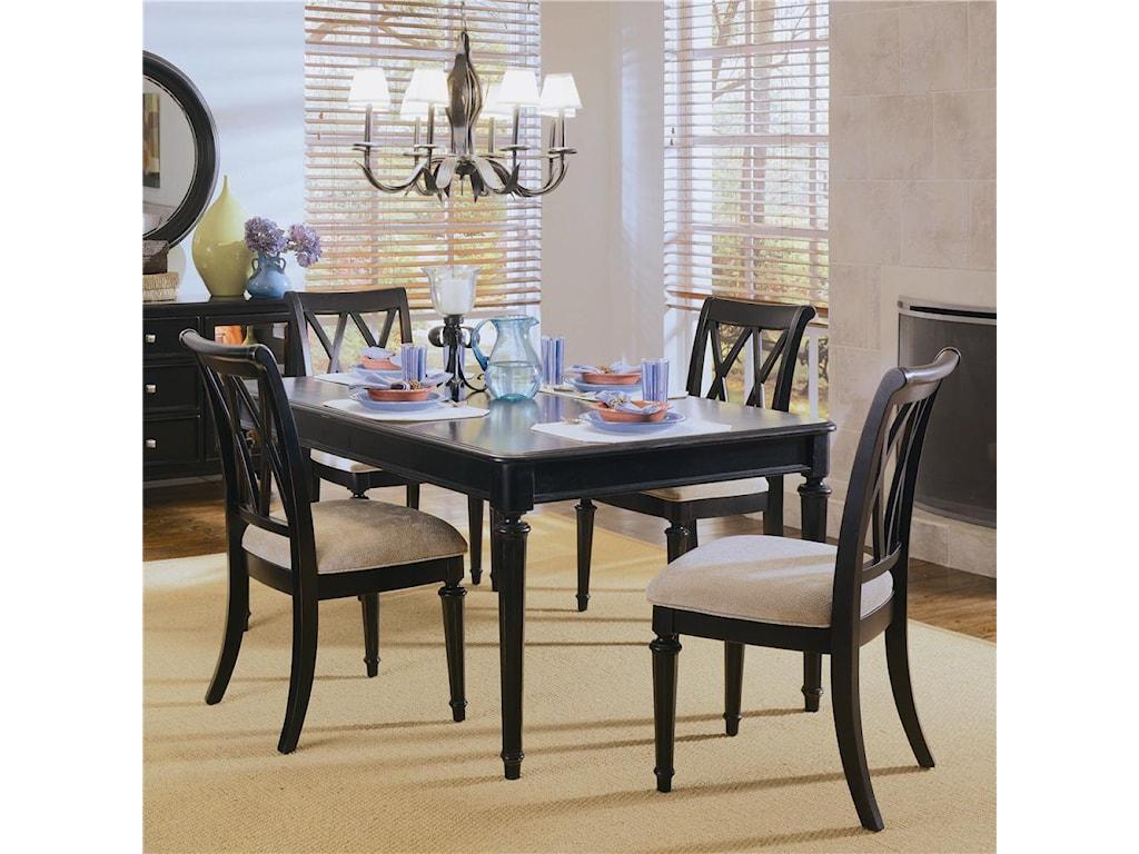American Drew Camden - Dark5-Piece Dining Set